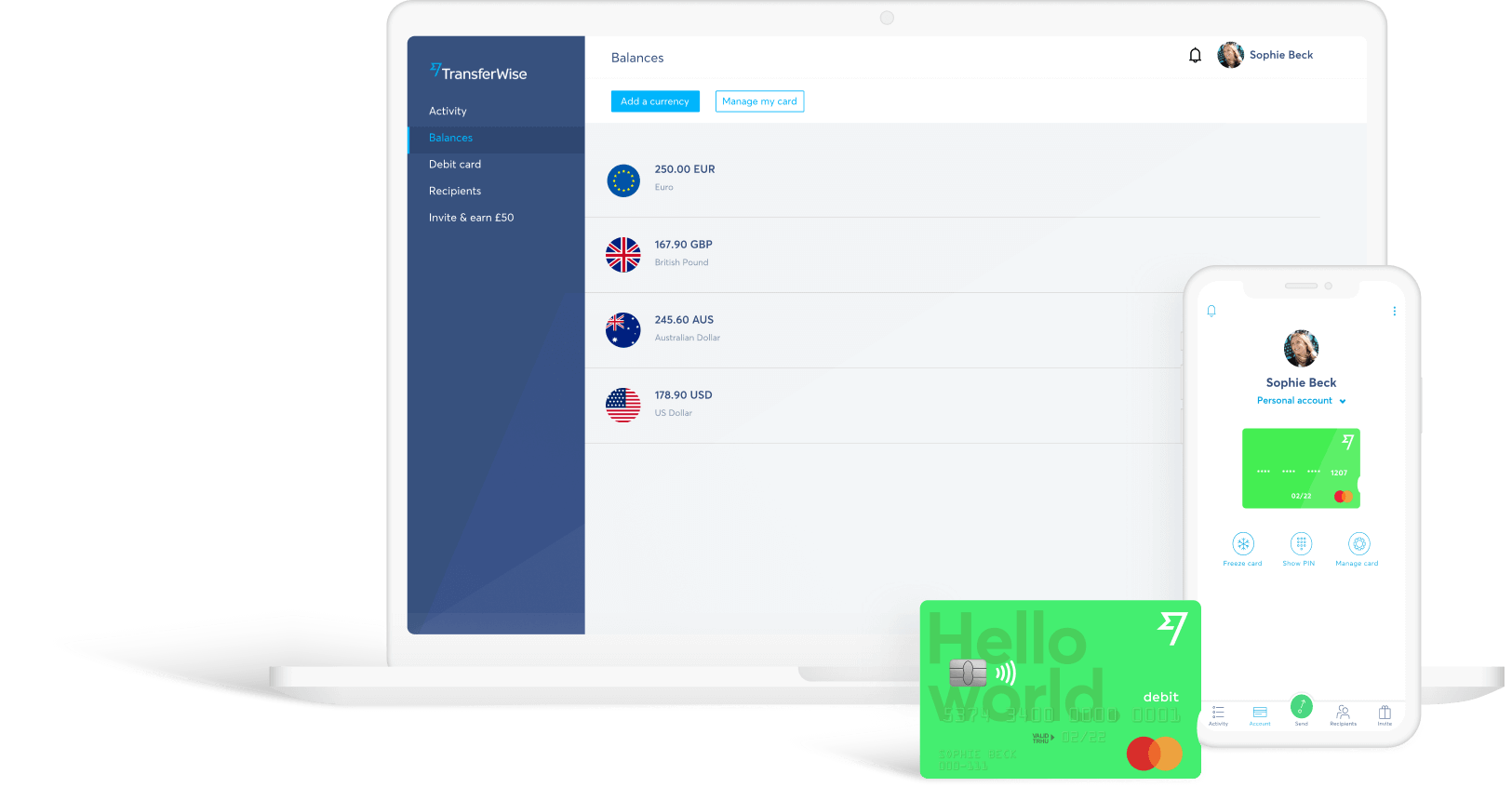 send money with transferwise