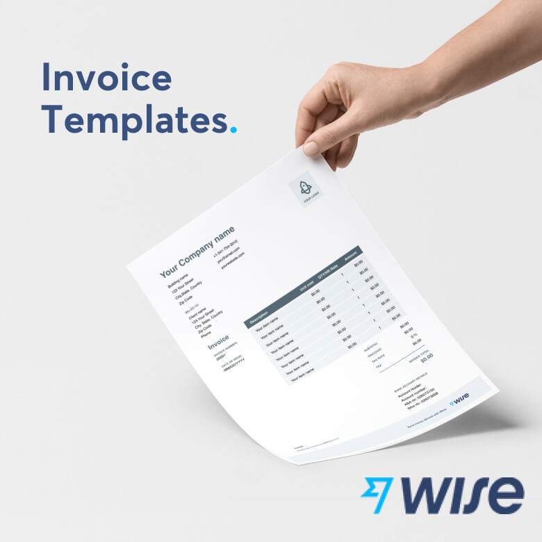 Invoice Template For Google Docs Free Download Wise