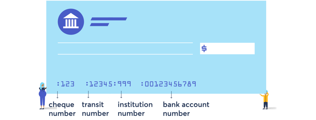 image of a banking check