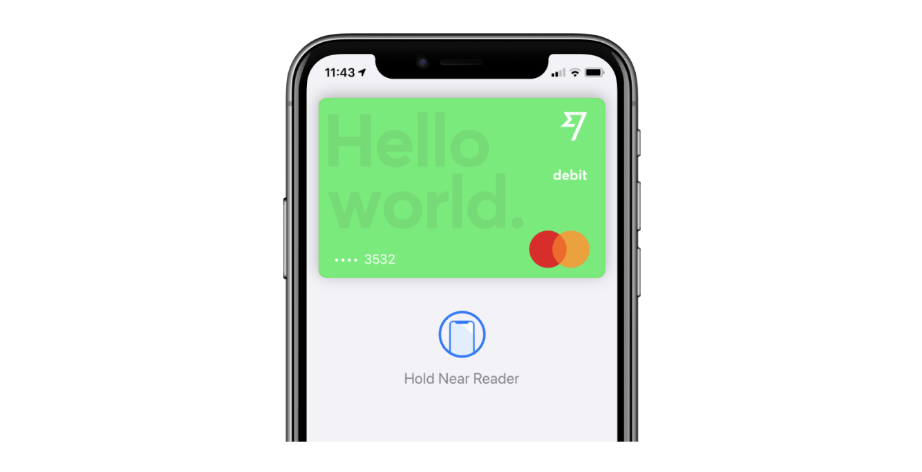 New! Use your TransferWise card with Apple Pay.