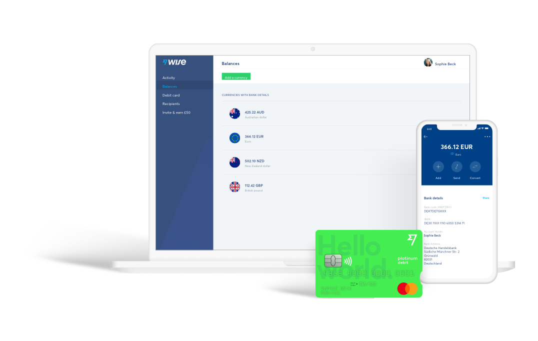 Wise is the cheaper, faster way to send money overseas