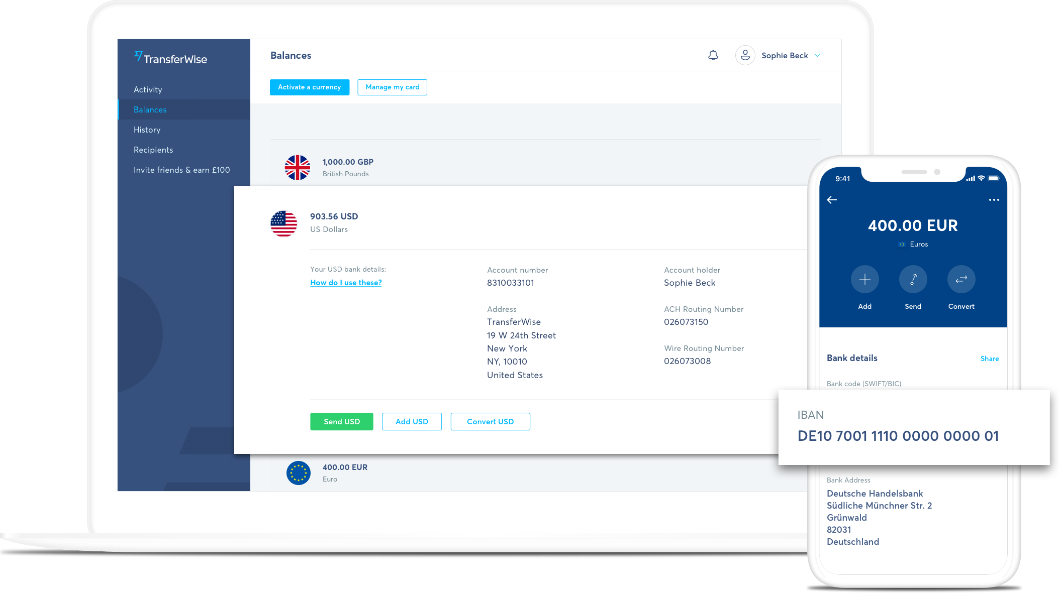free multi-currency account - transferwise