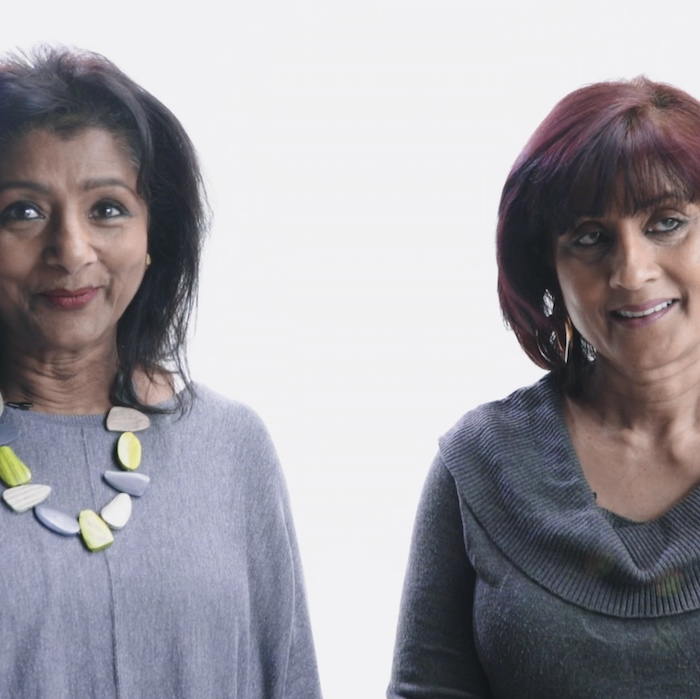 Our names are Mari and Christine, and we're from Sri Lanka.